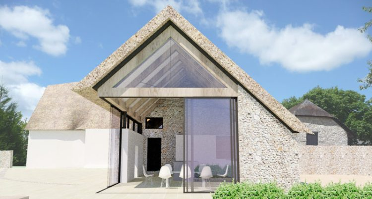 Farmhouse Extension Exterior