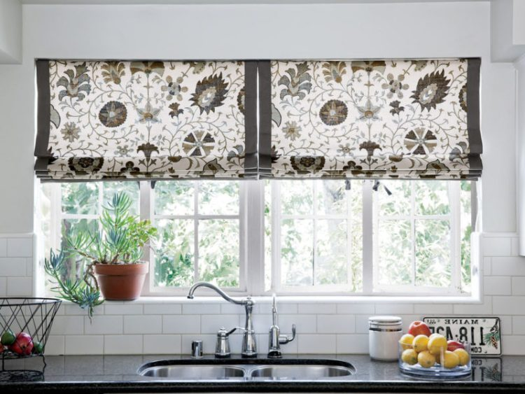 Kitchen Window Treatment Patterns