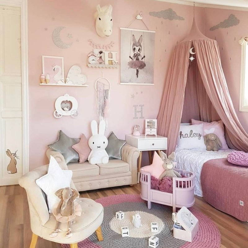 14 Girls Room Decor Ideas - Fun and Cute Style on Decoration Room For Girl  id=50834