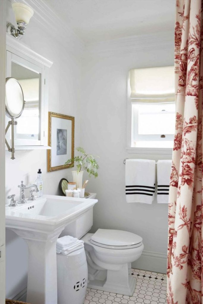 Budget bathroom wall ideas