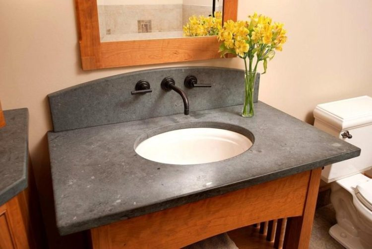 Countertops budget bathroom remodel