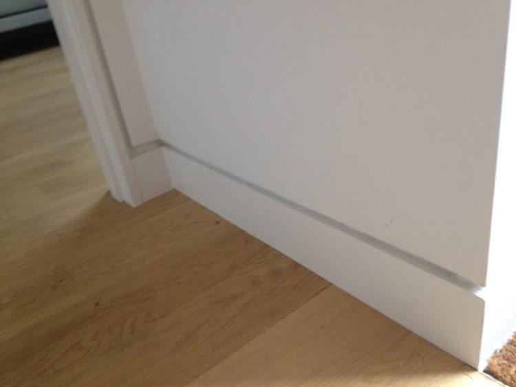 Flat Baseboard Molding