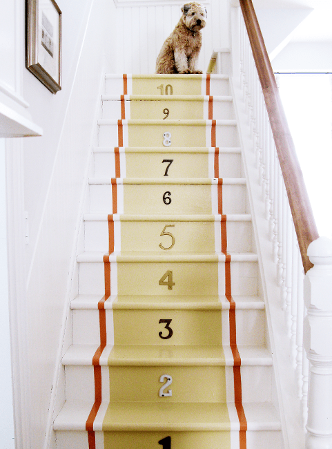 Stair runners for dog
