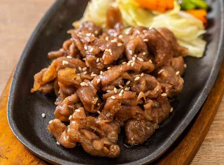 Bulgogi - food that starts with b
