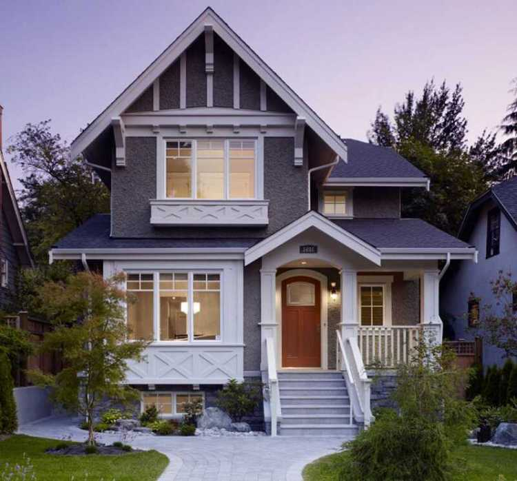 Contemporary gable roof design ideas