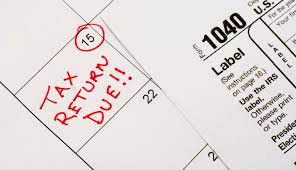 IRS Tax Deadlines 2016