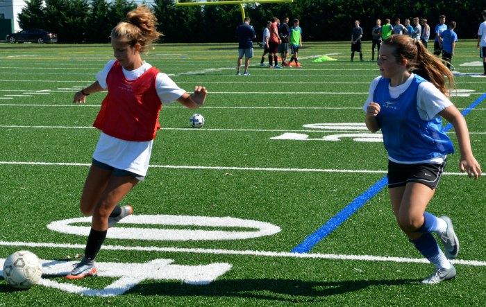 Kicking off fall sports Team BCPS student athletes make