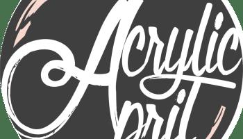 Acrylic April Logo