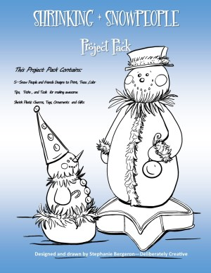 Snowperson and friend Project Pack Cover