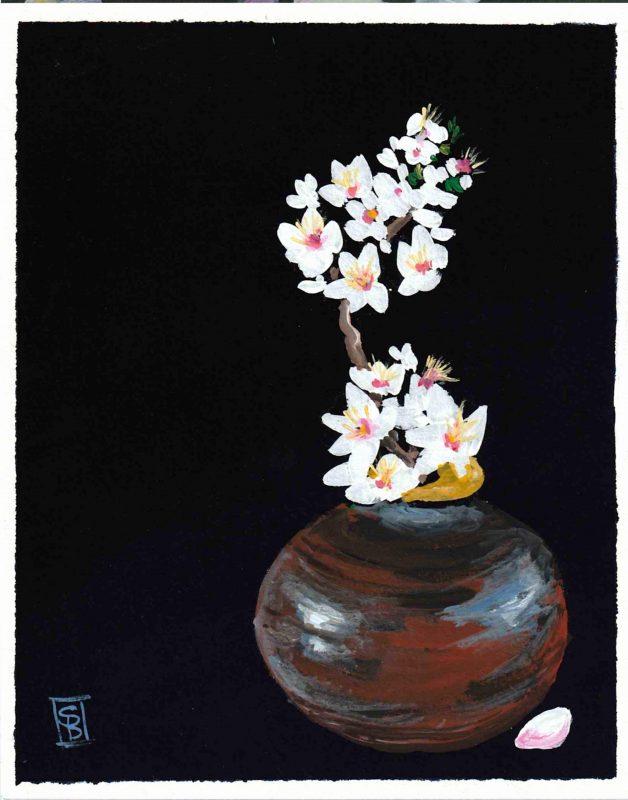 Sakura Vase