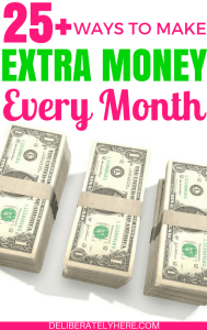 Over 25 Different and Clever Ways to Make Extra Money Every Month