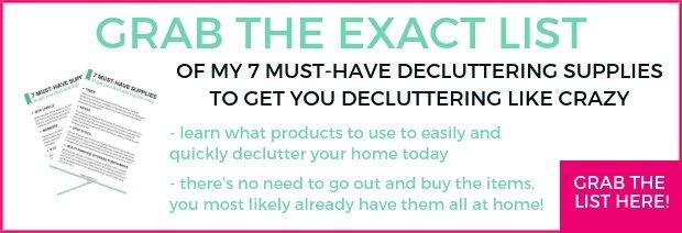 GRAB MY LIST of decluttering supplies (1)123