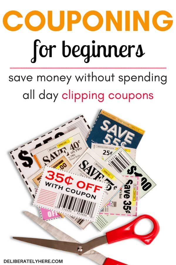 How to coupon for beginners - learn how to coupon to save money. Save money without spending all day clipping coupons. Learn how to coupon easily with minimal effort and time put in. I've always wanted to try couponing, but I never did it because I assumed it would take up my entire day - but it turns out couponing doesn't have to take long. It can be done quickly and effectively and still help you save money on groceries! I was able to stay in my food budget this month thanks to couponing!