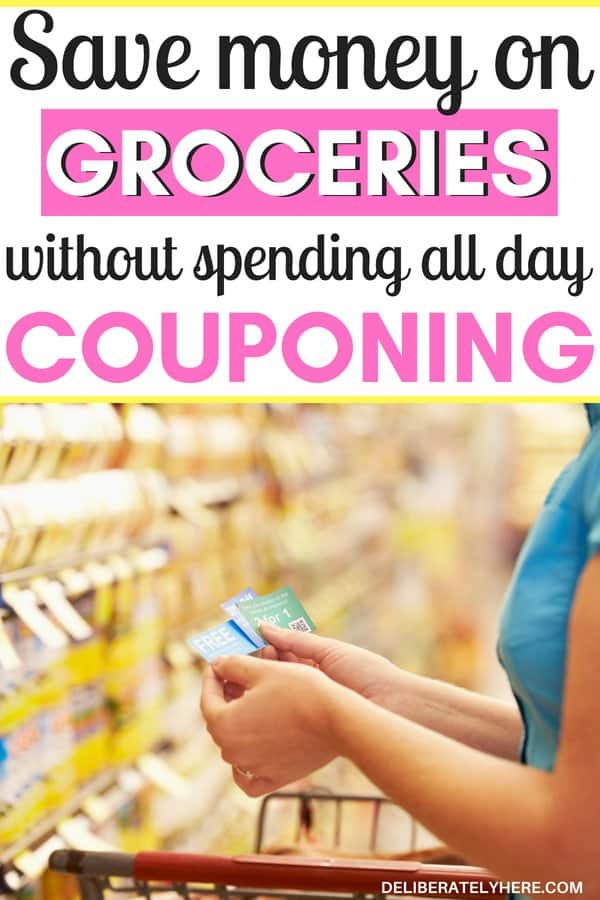 Save money on groceries without spending all day couponing: Couponing for beginners. Learn how to coupon without spending hours on end doing it. Save money on food by using free coupons. Find coupons to use on groceries! Learn how to effectively coupon so you aren't spending your whole day couponing but are still saving money with couponing.