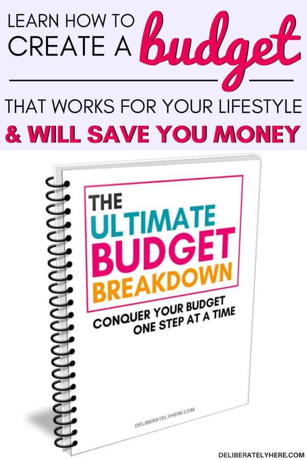 The Ultimate Budget Breakdown: how to create a budget that works for your life. Create an easy monthly budget that will save money every month. Stay on budget with these simple budget reminders. Create the perfect budget for your financial situation. I'm so excited to start using my Ultimate Budget Breakdown to create the perfect budget for me and my family and start saving money every month!