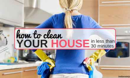 9 Ways to Clean Your House in Less Than 30 Minutes