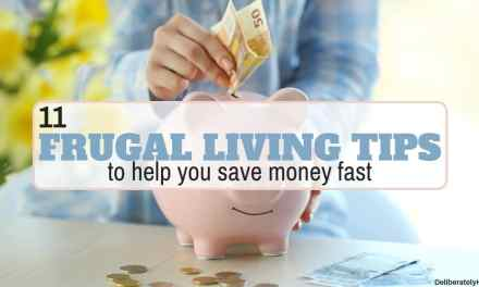 11 Frugal Living Tips to Help You Save Money