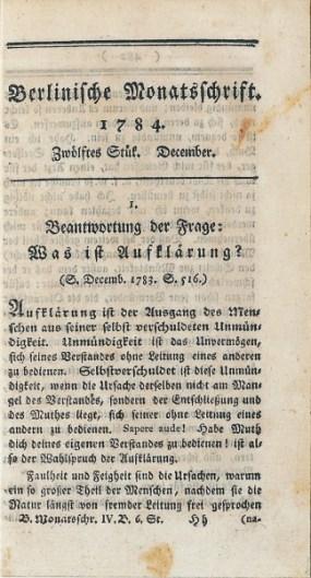 Berlinische Monatsschift (1784)
