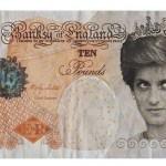 Billet de 10 livres émis par la Banksy of England, en circulation