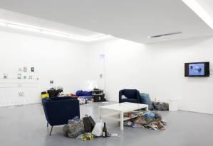"Dong-Hyun Kim, ""Blind Spot"" (2015), vue d'installation. © ENSAPC YGREC"