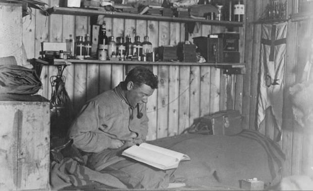 George Murray Levick © Antarctic Heritage Trust New Zealand. Expédition Terra Nova (1910-1912)