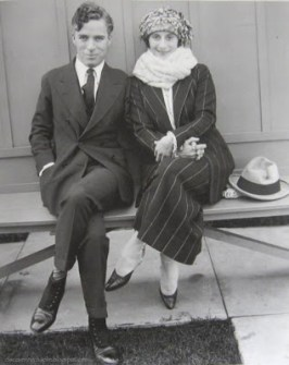Anna Pavlova et Charlie Chaplin