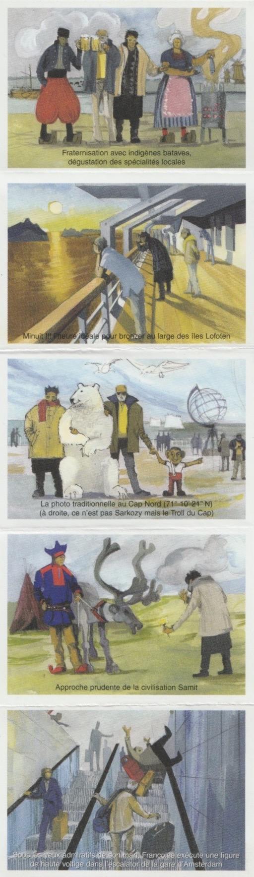 2003 - Les Zurbains vous souhaitent une excellente nouvelle année © Famille urbain