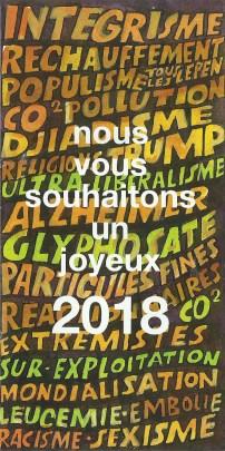 2018 - Les Zurbains vous souhaitent une excellente nouvelle année © Famille urbain
