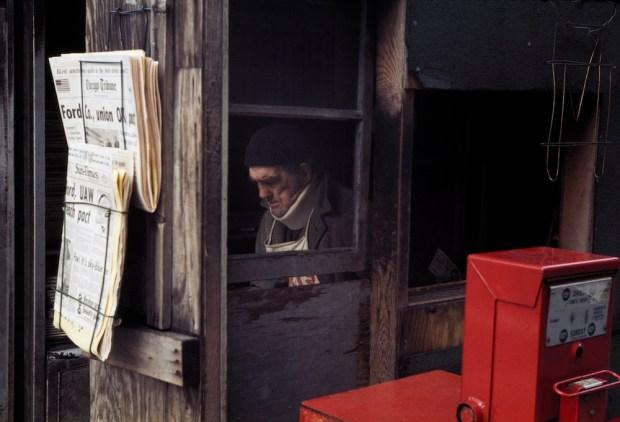 Vivian Maier, Chicago, October 1976