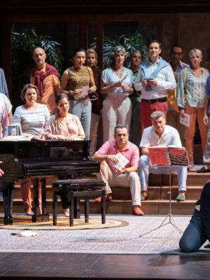 Tosca de Puccini – mise en scène Christophe Honoré – direction musicale Daniele Rustioni – Festival d'Aix-en-Provence 2019 © Jean Louis Fernandez