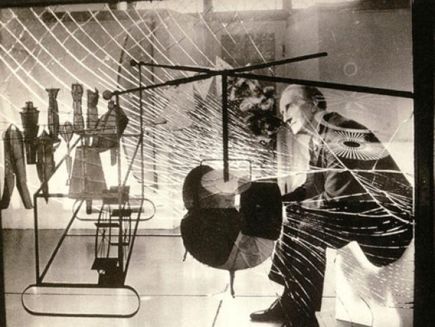 Marcel Duchamp et La Mariée mise à nu… brisée, Philadelphia Museum of Art, 1923