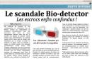 Le scandale Bio-Detector