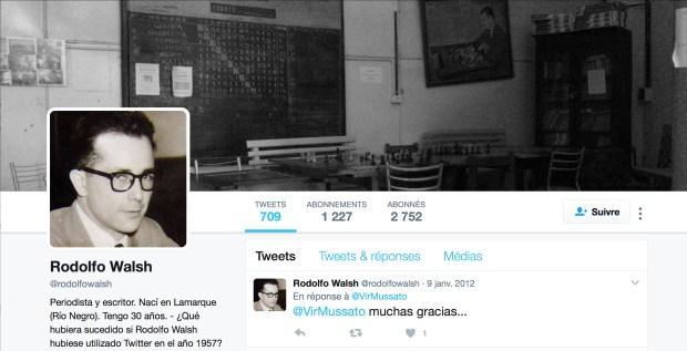 @rodolfowalsh - Cuenta Twitter del Proyecto Walsh