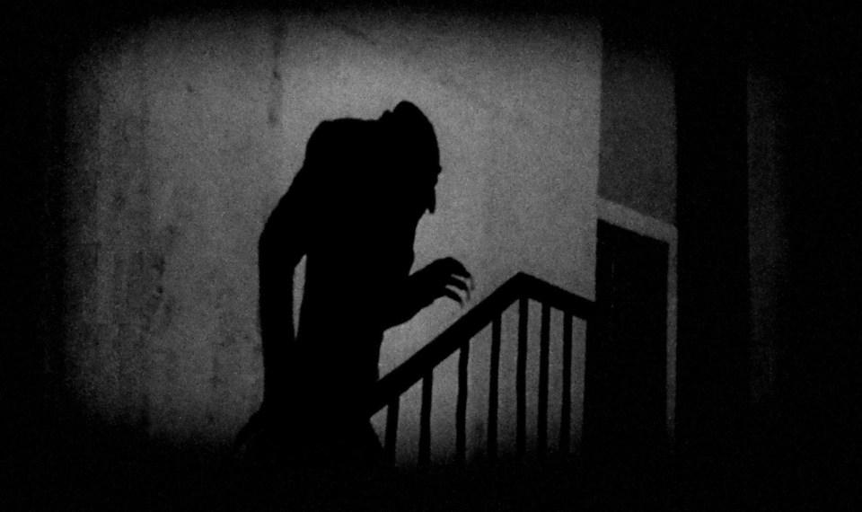 L'ombre portée du Nosferatu / Dracula de F.W.Murnau