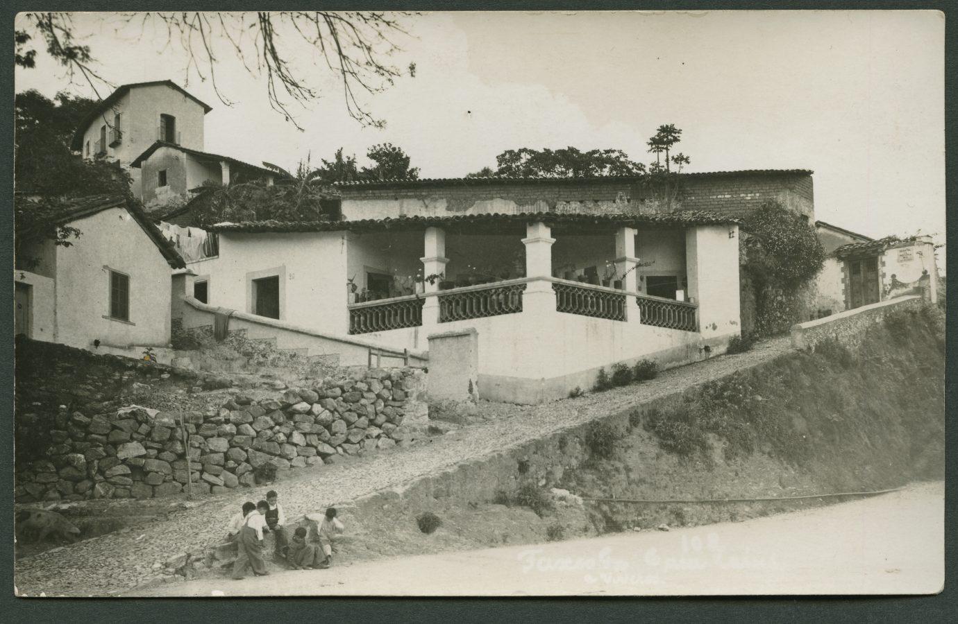 Recto de la carte postale envoyée depuis Taxco par Seva Volkov à Daniel Martinet en août 1939