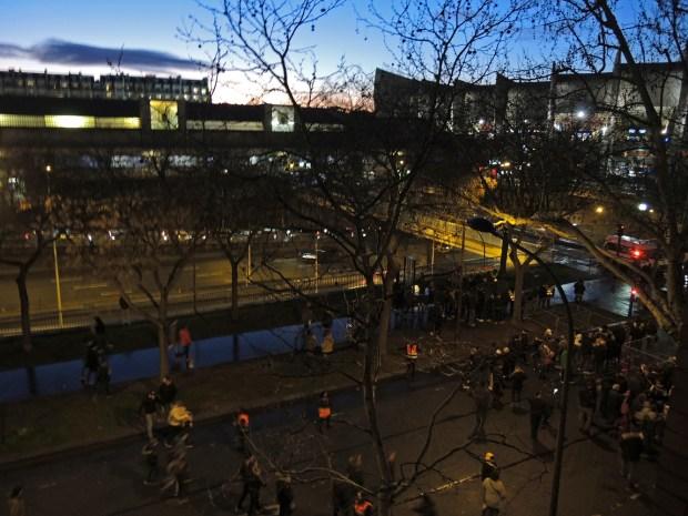 Le Parc des Princes, nuit de match ©Gilles Walusinski