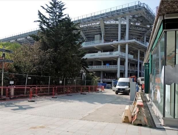 Le chantier Roland-Garros ©Gilles Walusinski
