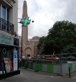 L'église Sainte-Odile à Paris, porte de Champerret ©Gilles Walusinski