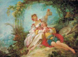 Fragonard - Les amants heureux
