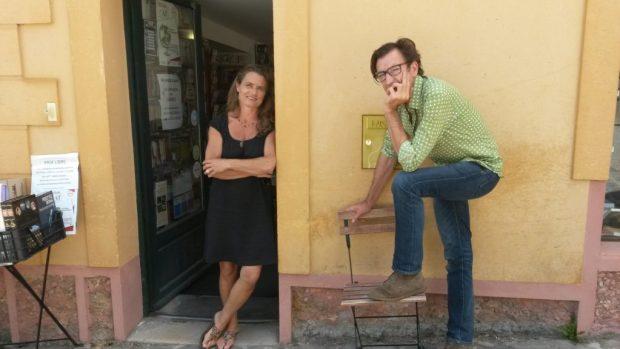 Hélène Pourquié et Pierre Morize. Photo ©DR