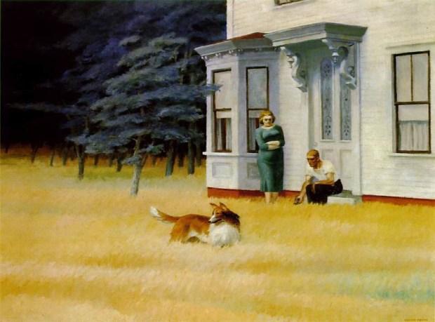 Cape Code Evening, Edward Hopper, 1939