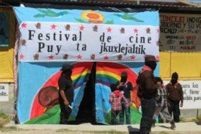 Festival de cinéma Puy ta Cuxlejaltic. Photo ©Joani Hocquenghem