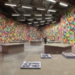 """Vue de l'exposition """"I ♥ JOHN GIORNO"""" de Ugo Rondinone, au Palais de Tokyo - Photo: André Morin"""