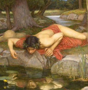 John William Waterhouse - Echo et Narcisse