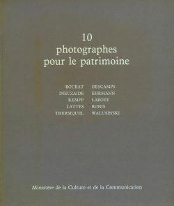 10 photographies pour le patrimoine - catalogue