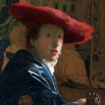 La fille au chapeau rouge, Johannes Vermeer. National Gallery of Art, Washington