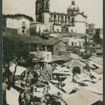 Première carte au dos de laquelle Marguerite Rosmer écrit à Daniel Martinet, le 18 août 1939. Vue de Taxco, Mexique
