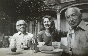 Manuel Álvarez Bravo, Agathe Gaillard, André Kertész. Arles 1978 © Jean-Philippe Charbonnier