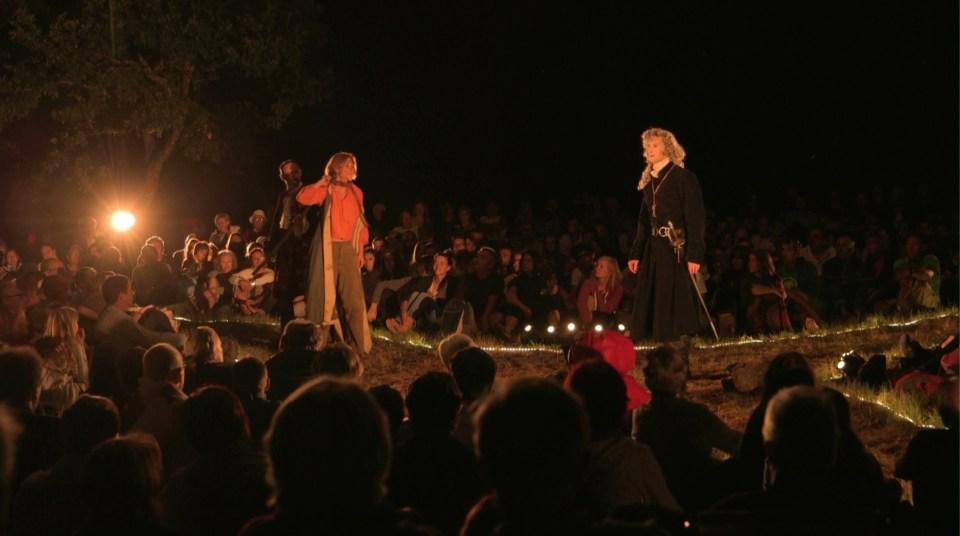 La Nuit des Camisards, texte de Lionnel Astier, mise en scène de Gilbert Rouvière, Compagnie Zinc Théâtre