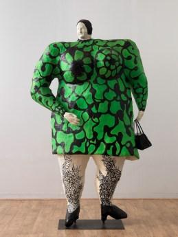 Niki de Saint Phalle, Madame ou Nana verte au sac, 1968 ©André Morin. Courtesy NCAF et Galerie GP & N Vallois